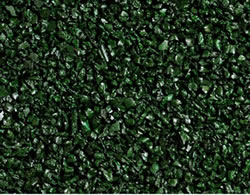 Dark-Green Rubber Safety Surface
