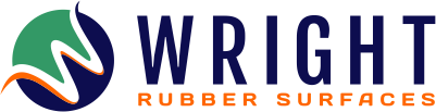Wright Rubber Surfaces Logo